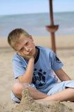 Little boy boring Royalty Free Stock Photos