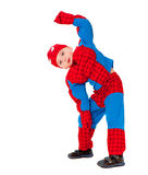 Little boy in carnival costume Royalty Free Stock Image