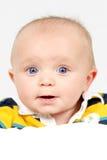 Little Boy catturato primo piano fotografia stock libera da diritti