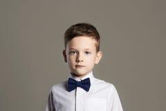 Little boy.child in tie.stylish kid Stock Photography