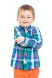 The little boy close-up Stock Photos