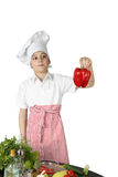 Little boy cook Royalty Free Stock Photos
