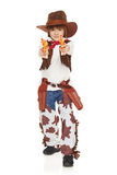 Little boy cowboy Stock Photography