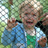 Little boy crying Stock Photos