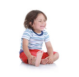 Little boy crying Royalty Free Stock Photo