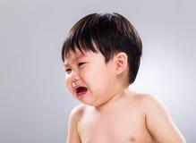 Little boy crying Stock Photo