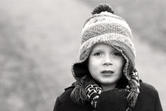 little boy crying out loud Royalty Free Stock Photo