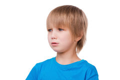 Little boy crying. Royalty Free Stock Photo