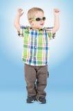 Little boy dancing royalty free stock image
