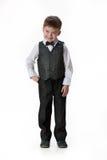 Little Boy in de Kleding van de Maskerade stock foto's