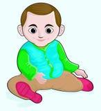 Little Boy de sorriso Imagem de Stock