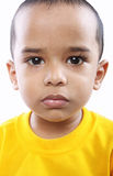 Little Boy. Depressed Indian Little Boy with Expression Stock Image