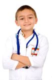 Little boy doctor Stock Photo
