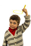 Holy boy Royalty Free Stock Images
