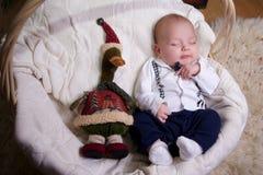 Little boy dressed as a gentleman Stock Photo