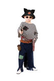 Little boy dressed as a pirate Royalty Free Stock Photography