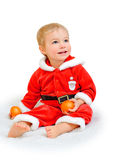 Little boy dressed as Santa Claus Royalty Free Stock Photo