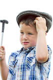 Little boy duffer Royalty Free Stock Photos