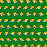 Little boy - emoji pattern 65. Pattern of a emoji little boy that can be used as a background, texture, prints or something else vector illustration