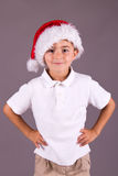 Little boy excited for Christmas Stock Photos