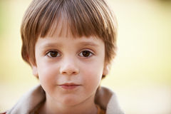 Little boy face Royalty Free Stock Image