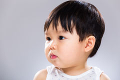 Little boy feeling sad Stock Photography
