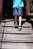 Little boy feet Royalty Free Stock Photo