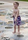 Little boy fountain Stock Photo