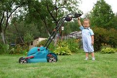 Little Boy-Gärtner Lizenzfreies Stockbild