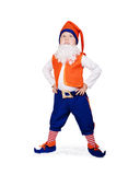 Little boy in gnome fancy-dress Royalty Free Stock Images