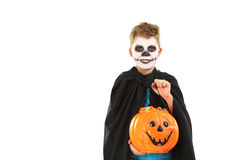Little boy in halloween costume Royalty Free Stock Photo