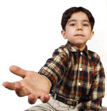 LITTLE BOY HAND Royalty Free Stock Images
