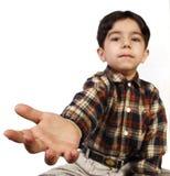 LITTLE BOY-HAND Lizenzfreie Stockbilder