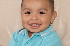 Little boy with happy smile Stock Photo