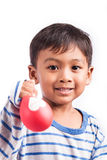 Little  boy happy and smile Royalty Free Stock Photo