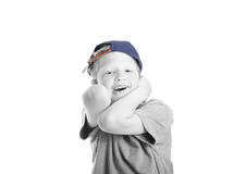 Little boy in a hat Royalty Free Stock Photography