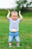 Little Boy Have Some Problem Stock Photos