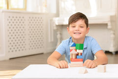 Little boy having fun Royalty Free Stock Image