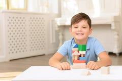 Little boy having fun Royalty Free Stock Image