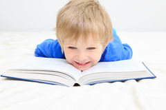 Little boy having fun during studying Stock Photography