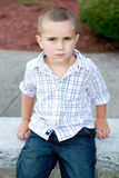 Little Boy By Himself Royalty Free Stock Photo