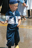 Little Boy at Holland Fest 2016 royalty free stock photo