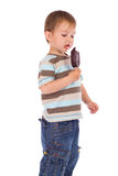 Little boy with ice cream Royalty Free Stock Images