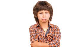 Little Boy impertinente Fotografia de Stock