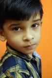 Little Boy indio Imagenes de archivo