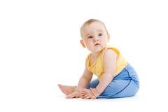 Little boy isolated studio shot Stock Image