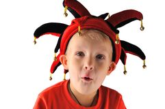 A little boy joker Royalty Free Stock Photo