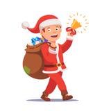 Little boy kid dressed like Santa Claus Royalty Free Stock Photos