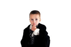 Boy Thinker royalty free stock images
