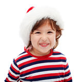 Little boy laughing Stock Image